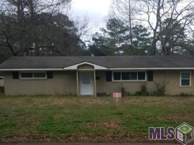 Denham Springs Single Family Home For Auction: 30662 Anderson Dr