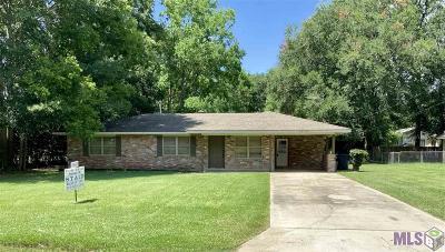 Zachary Single Family Home For Sale: 4053 Bennett St