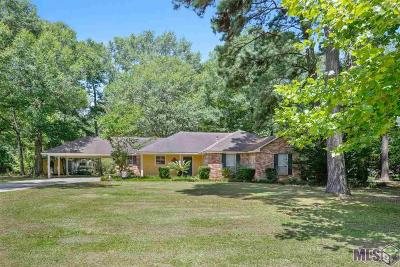 Denham Springs Single Family Home For Sale: 32545 Mercier Rd