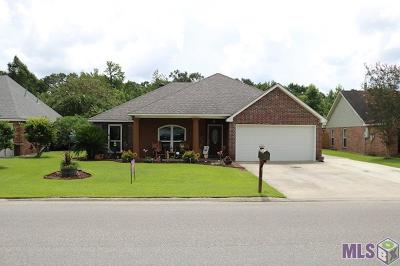 Denham Springs Single Family Home For Sale: 23568 South Point