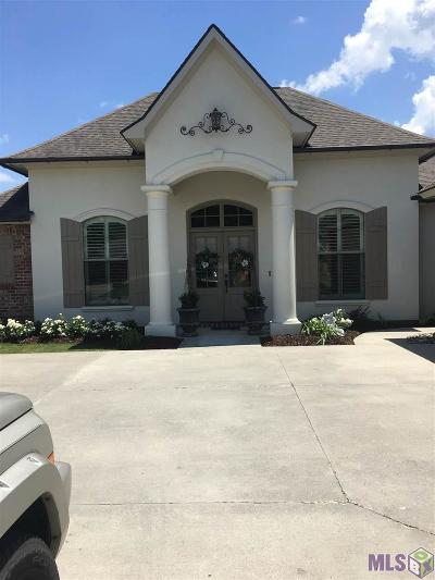 Prairieville Single Family Home For Sale: 18454 Old Maplewood Dr