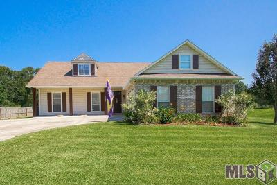 Denham Springs Single Family Home For Sale: 10605 Cardinal Rd