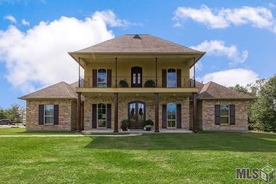 Denham Springs Single Family Home For Sale: 37523 Weiss Rd