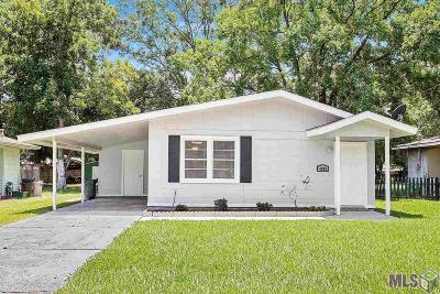 Zachary Single Family Home For Sale: 4060 Nelson St