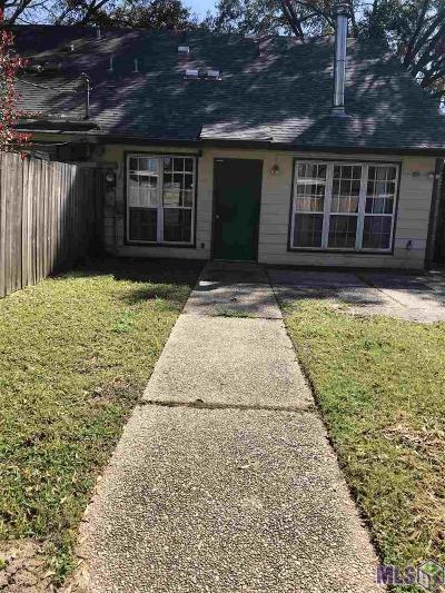 Baton Rouge Condo/Townhouse For Sale: 4852 Alvin Dark Ave