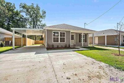 St Gabriel Single Family Home For Sale: 1495 Ravier Ln