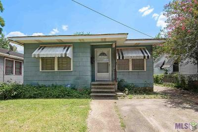 Single Family Home For Sale: 821 W Garfield St
