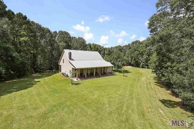 St Francisville Single Family Home For Sale: 7422 Ouida Irondale Rd