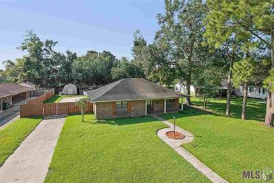 Plaquemine Single Family Home For Sale: 58525 St Clement Ave