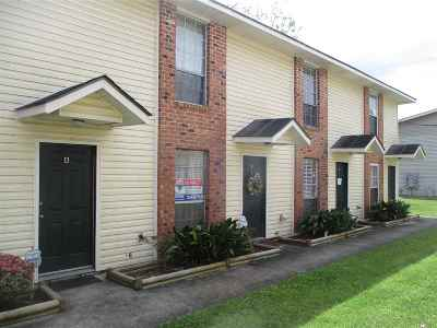 Baton Rouge Condo/Townhouse For Sale: 1730 Brightside Dr #C