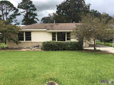 Plaquemine Single Family Home For Sale: 58140 Sherburne St