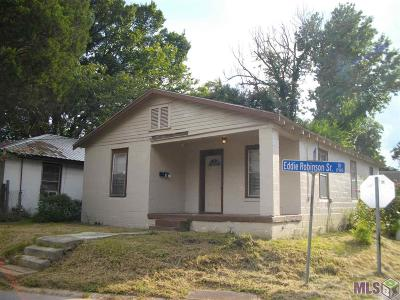 Single Family Home For Sale: 1740 Eddie Robinson Dr