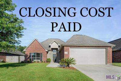 Denham Springs Single Family Home For Sale: 26277 Pinecrest Dr