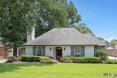 Prairieville Single Family Home For Sale: 17190 N Lake Dr