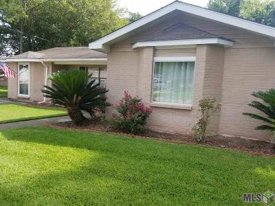 Plaquemine Single Family Home For Sale: 24619 High School St