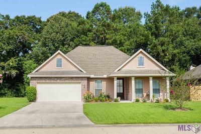 Denham Springs Single Family Home For Sale: 28463 Grand Turk Dr