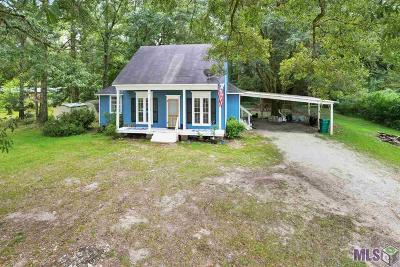Denham Springs Single Family Home For Sale: 23081 La Hwy 16