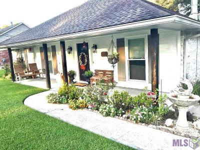 Zachary Single Family Home For Sale: 3721 Cedar St