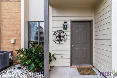 Baton Rouge Condo/Townhouse For Sale: 8455 Summa Ave #5