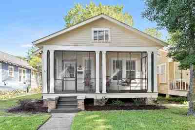 East Baton Rouge Parish Single Family Home For Sale: 2145 Wisteria St