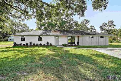 Prairieville Single Family Home For Sale: 16433 Joe Sevario Rd