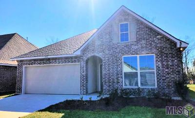 St Gabriel Single Family Home For Sale: 1944 Meadow Oak Dr