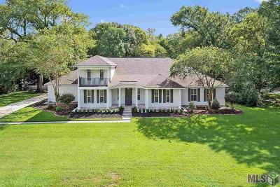 Prairieville Single Family Home For Sale: 18742 Plantation Court Dr