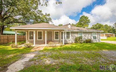 Denham Springs Single Family Home For Sale: 33399 Perkins Rd