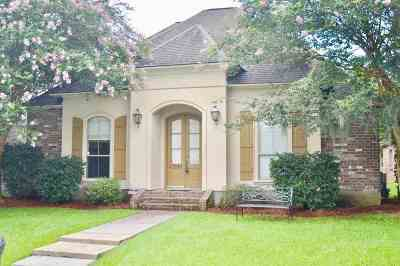 Ascension Parish Single Family Home For Sale: 37042 Millwood Dr