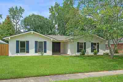 Baton Rouge Single Family Home For Sale: 16021 Ranchwood Dr