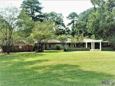 Denham Springs Single Family Home For Sale: 2211 Augusta Ln
