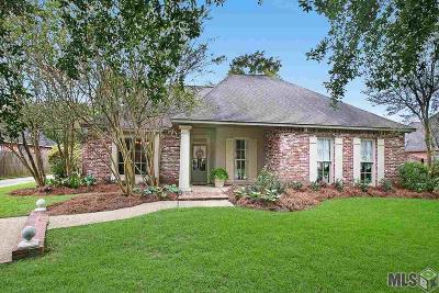 Baton Rouge Single Family Home For Sale: 321 W Plantation Ridge Ct