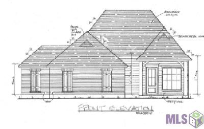 Denham Springs Single Family Home For Sale: Lot 75 Effie Dr