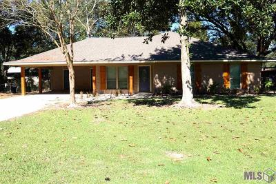 Zachary Single Family Home For Sale: 3981 Cherry St