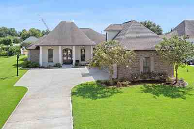 Gonzales Single Family Home For Sale: 5422 Cypress Point Ln