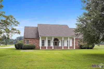 Prairieville Single Family Home For Sale: 38021 Brown Rd
