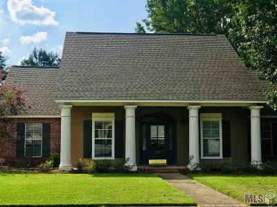 Zachary Single Family Home For Sale: 4369 Cherokee Rose Dr