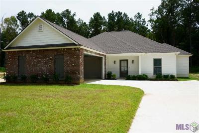 Denham Springs Single Family Home For Sale: 35225 Cane Market Rd