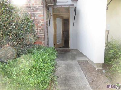 Baton Rouge Condo/Townhouse For Sale: 11110 Boardwalk Dr #38