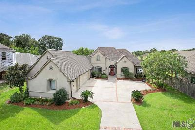 Prairieville, Baton Rouge, Geismar, Gonzales Single Family Home For Sale: 13553 Bluff Point Dr