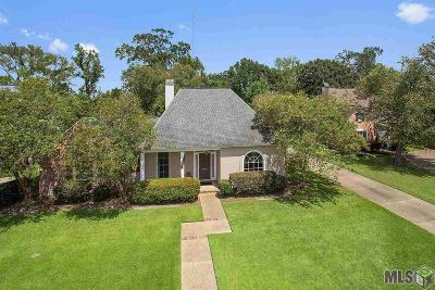 Baton Rouge Single Family Home For Sale: 10761 Thistlewood Dr