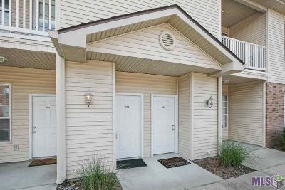 Baton Rouge Condo/Townhouse For Sale: 900 Dean Lee Dr #902