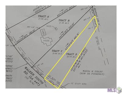 Residential Lots & Land For Sale: 21086 Walker South Rd #Lot D