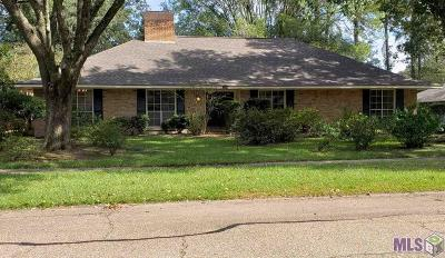 Baton Rouge Single Family Home For Sale: 12425 E Sheraton Ave