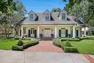 Prairieville, Baton Rouge, Geismar, Gonzales Single Family Home For Sale: 17844 E Augusta Dr