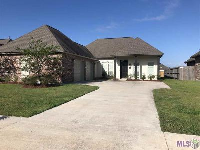 Prairieville, Baton Rouge, Geismar, Gonzales Single Family Home For Sale: 16459 Parker Place Dr