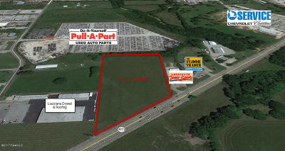 Commercial Lots & Land For Sale: 1326 Ambassador Caffery Parkway