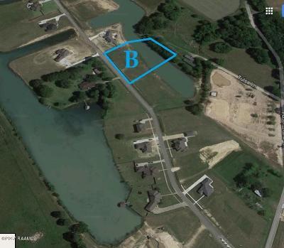 Acadia Parish Residential Lots & Land For Sale: Tr B & B-1 Lake Cove Drive