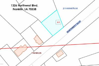 St Mary Parish Commercial Lots & Land For Sale: 1326 Northwest Blvd. 7-D