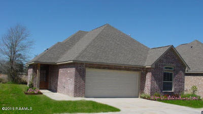 Carencro Single Family Home For Sale: 202 Wisteria Bend Circle